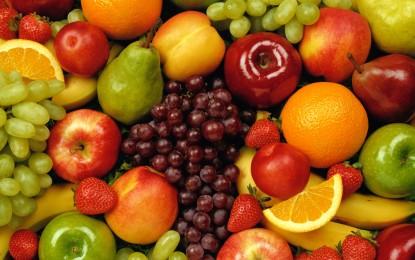 Калоричност на плодовете и зеленчуците
